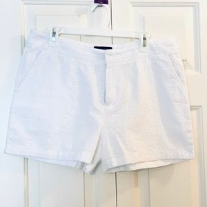 NWOT Cynthia Rowley eyelet shorts